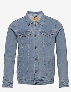 Kash Denim Jacket - jeansjacken - light blue