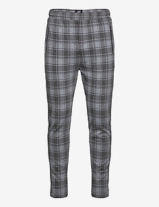 Ponte Roma Elastic - pantalons décontractés - 118 light grey check