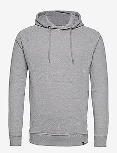 BASIC SWEAT HOODIE - basic-sweatshirts - 003 grey