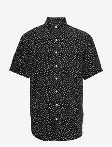 Grande S/S Shirt - kortærmede skjorter - black dot
