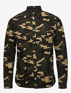 LUIS SHIRT - basic skjortor - camo