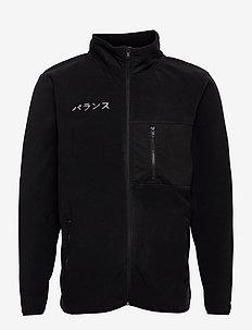 DPFleece Zip Jacket - mid layer jackets - 001 black