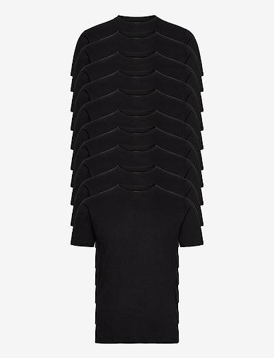 10 Pack T-SHIRT - basic t-shirts - black