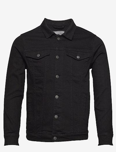 Kash Denim Jacket - jeansjackor - black