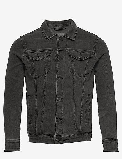Kash Denim Jacket - jeansjackor - grey