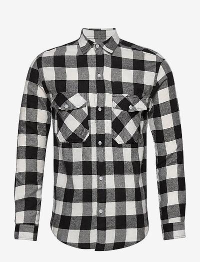 DPSAMI SHIRT - rutiga skjortor - white check