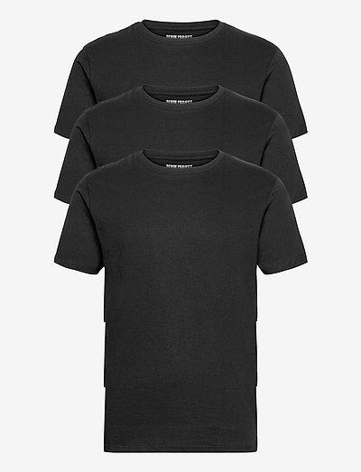 3 PACK T-SHIRTS - basic t-shirts - black