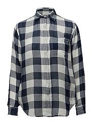 RL Boyfriend Checked Shirt - ASHER CHECK