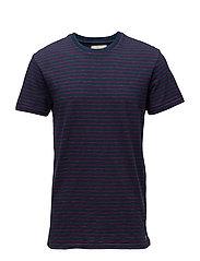Striped Cotton Jersey Tee - CPTN STRIPE DP CO