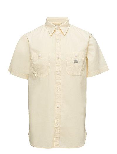 Cotton Sport Shirt - BUTTER PAT