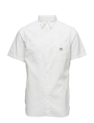 Cotton Sport Shirt - WHITE