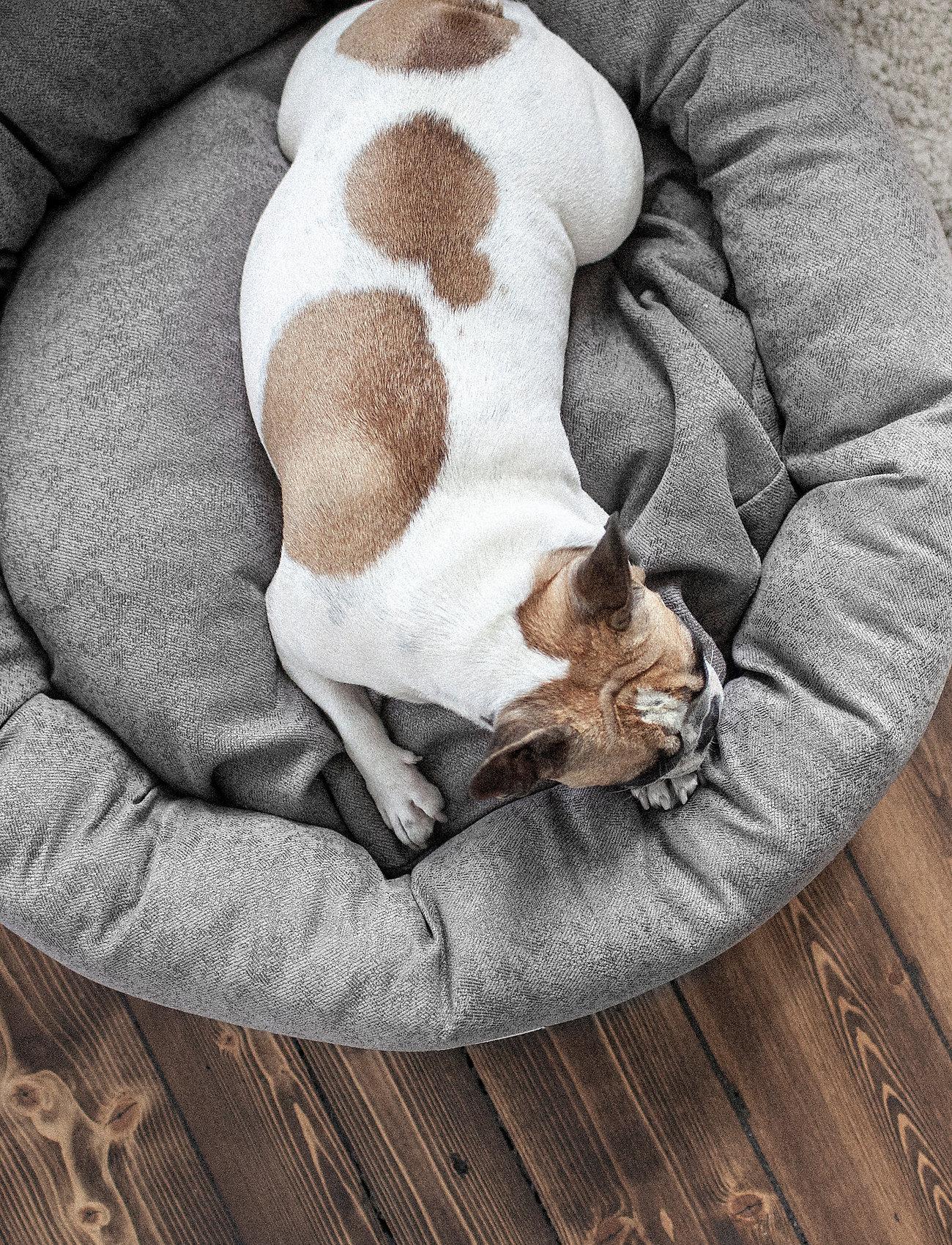 Denjo Dogs - Donut Bed Textile - hundesenge - graphite - 5