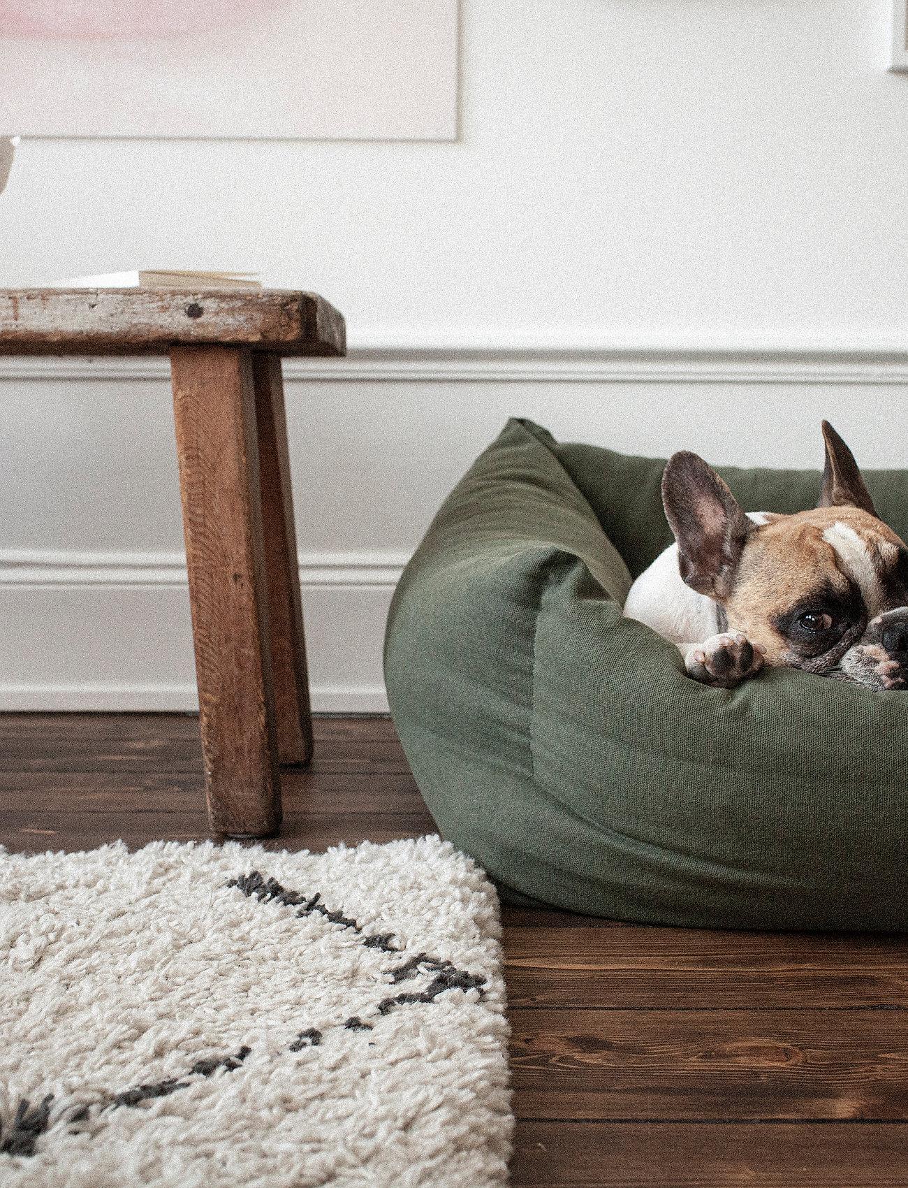 Denjo Dogs - Nest Bed - hundesenge - khaki green - 4