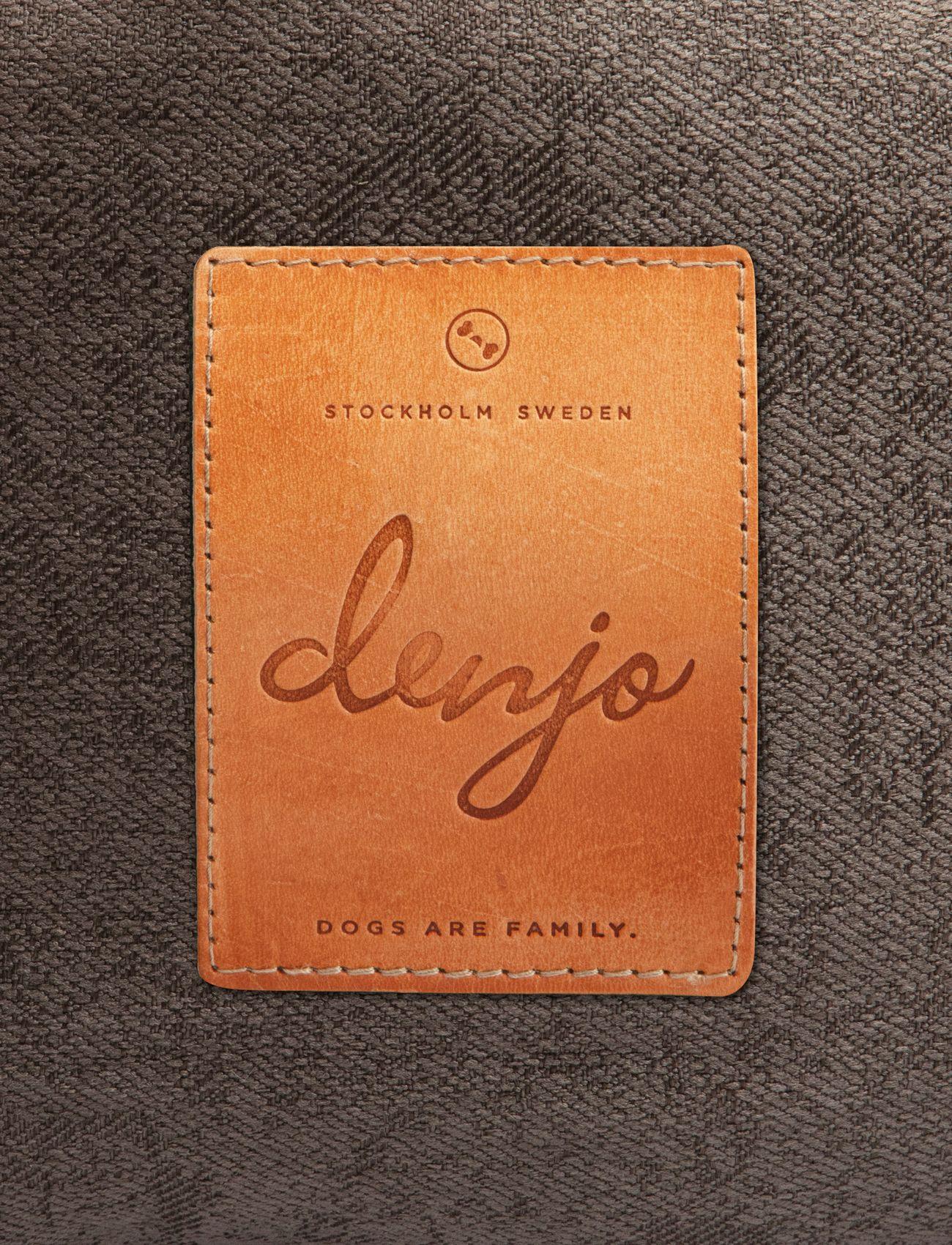 Denjo Dogs - Donut Bed Leather - hundesenge - brown - 2