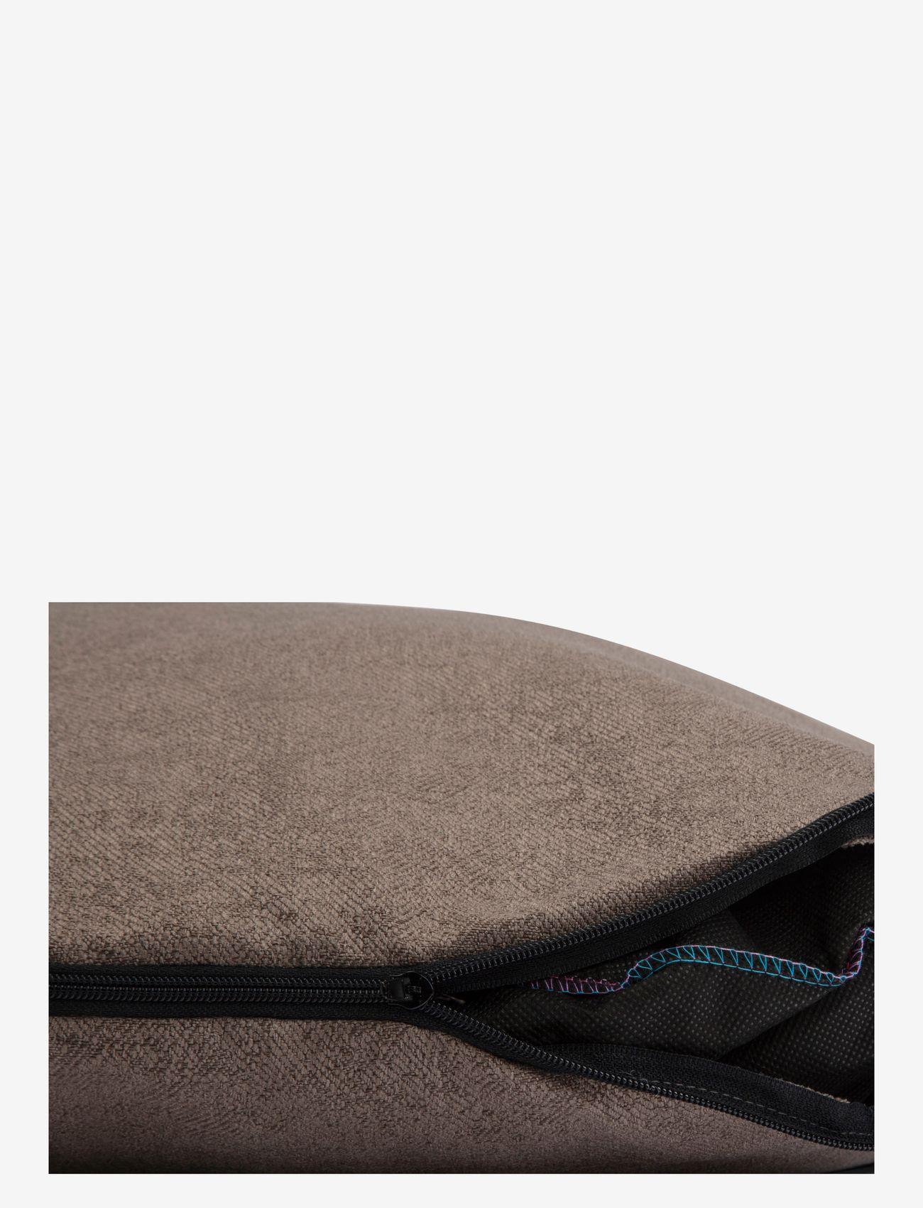 Denjo Dogs - Donut Bed Leather - hundesenge - brown - 3