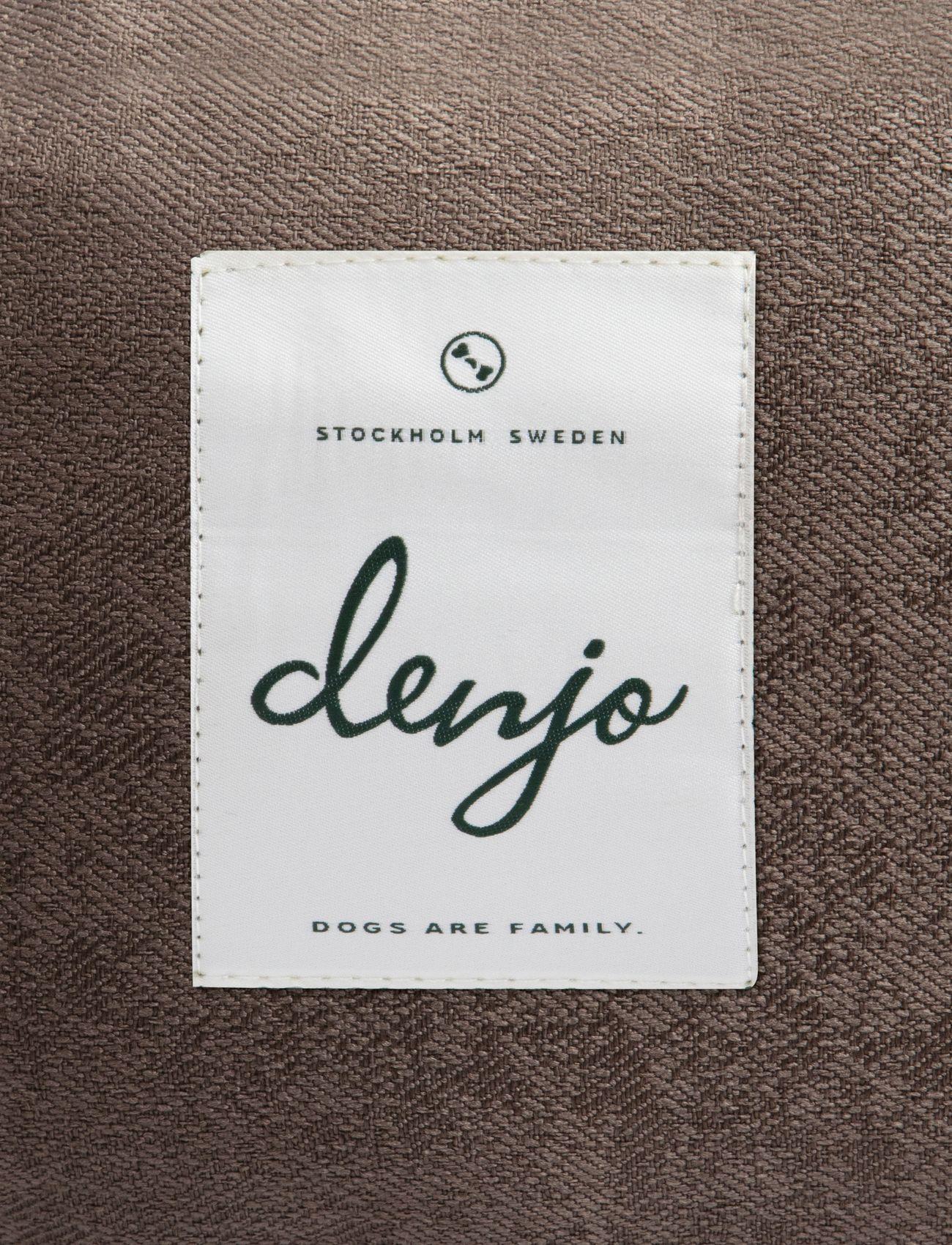 Denjo Dogs - Donut Bed Textile - hundesenge - brown - 2