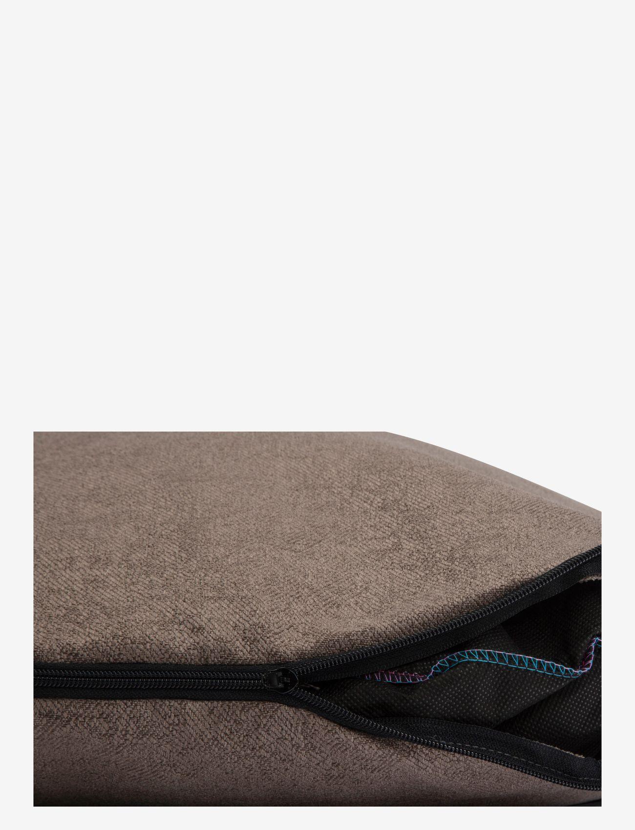 Denjo Dogs - Donut Bed Textile - hundesenge - brown - 3
