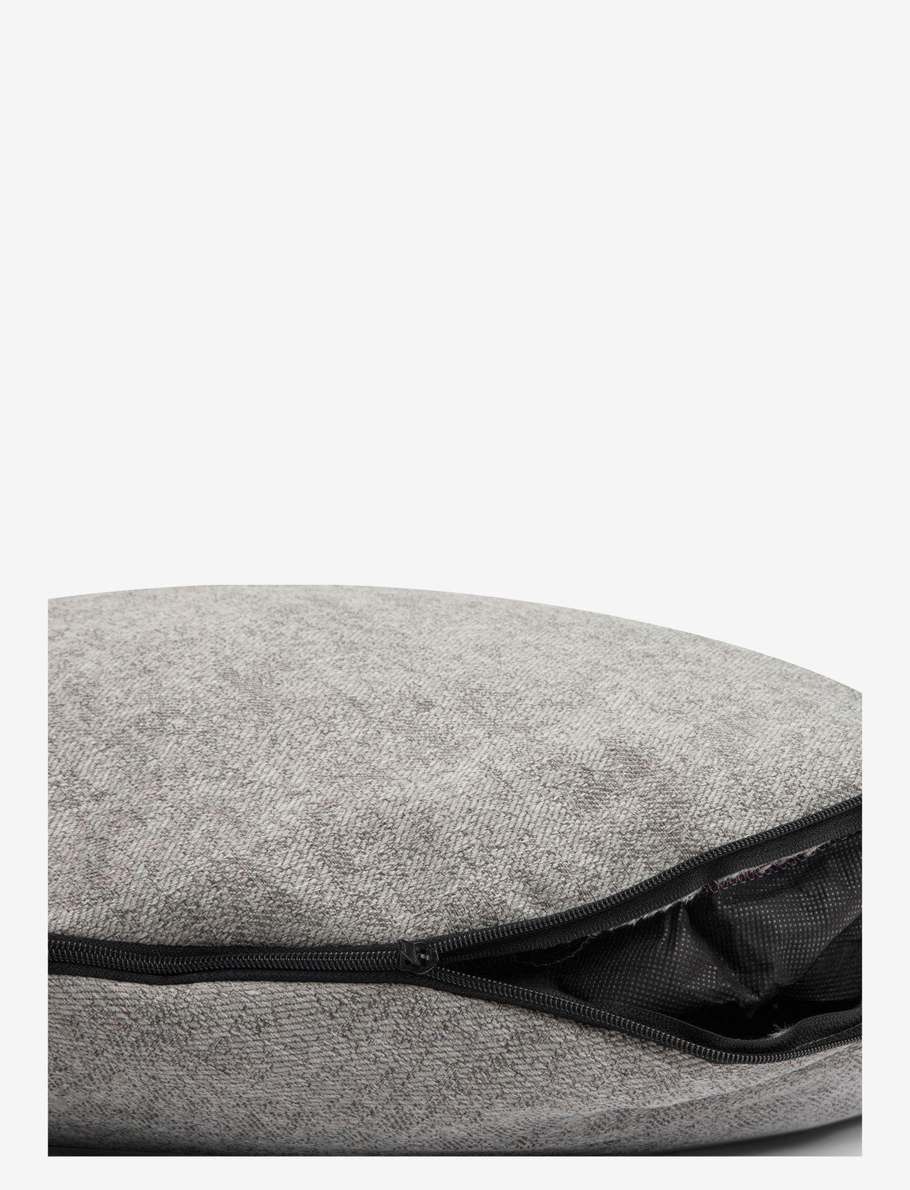 Denjo Dogs - Donut Bed Leather - hundesenge - graphite - 3