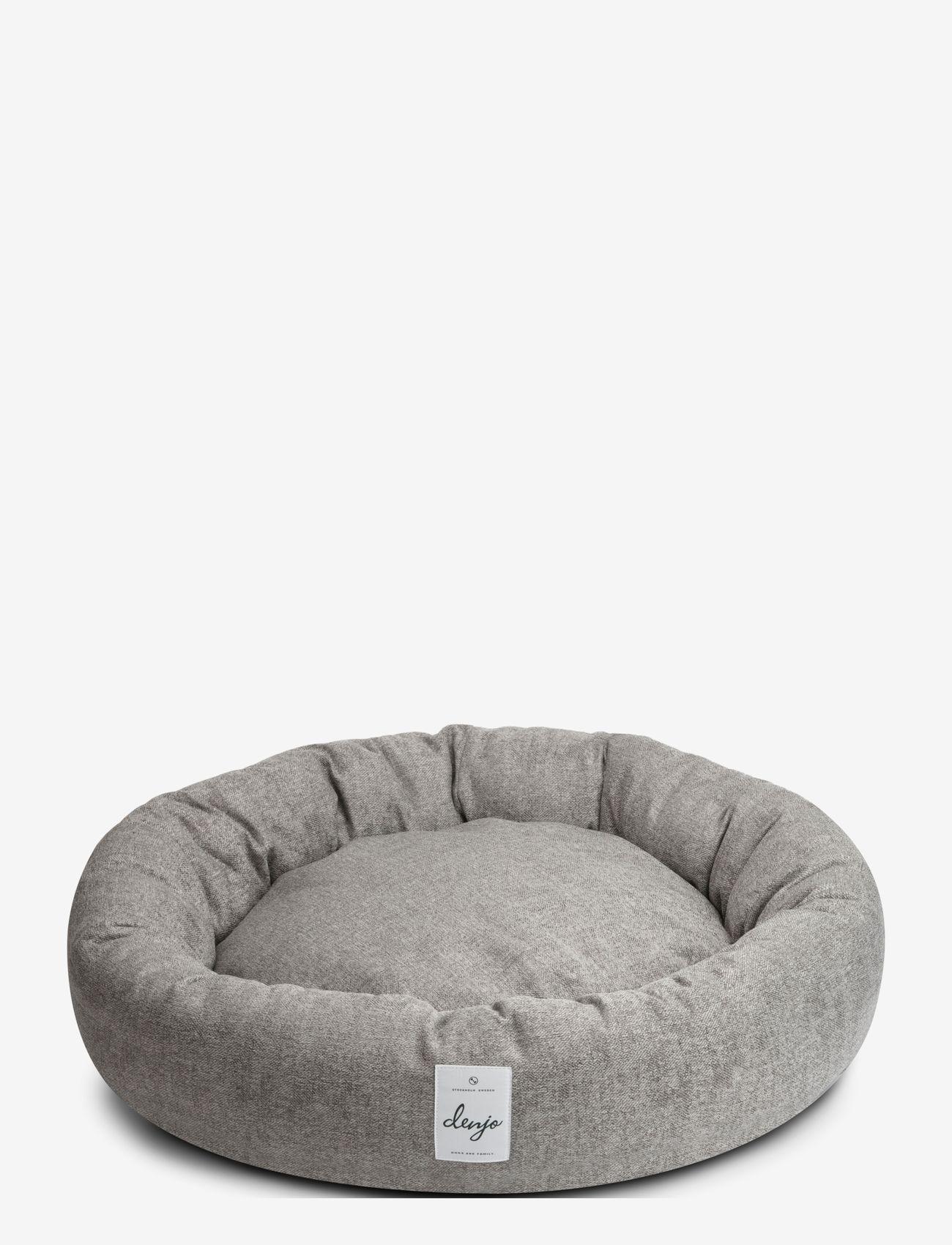 Denjo Dogs - Donut Bed Textile - hundesenge - graphite - 0