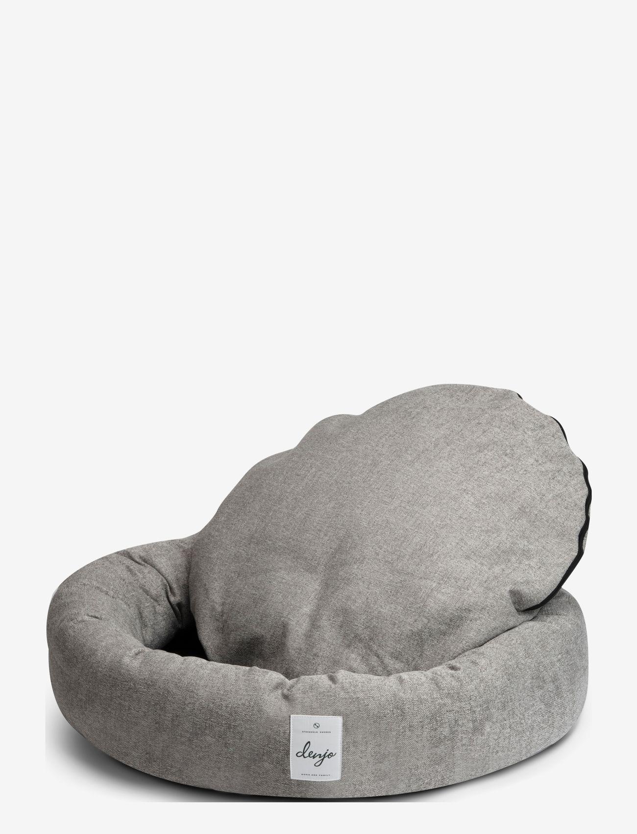 Denjo Dogs - Donut Bed Textile - hundesenge - graphite - 1