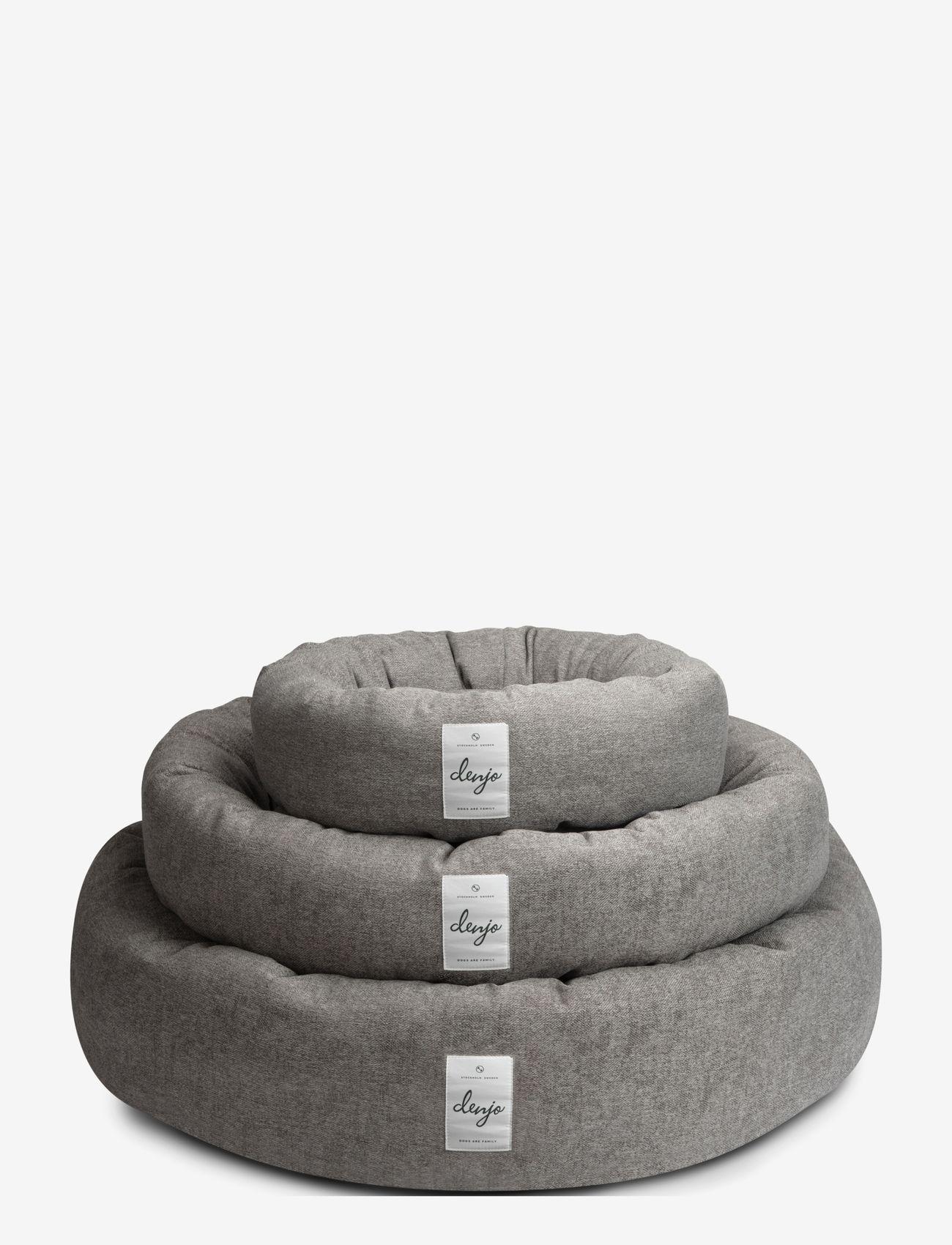 Denjo Dogs - Donut Bed Textile - hundesenge - graphite - 4