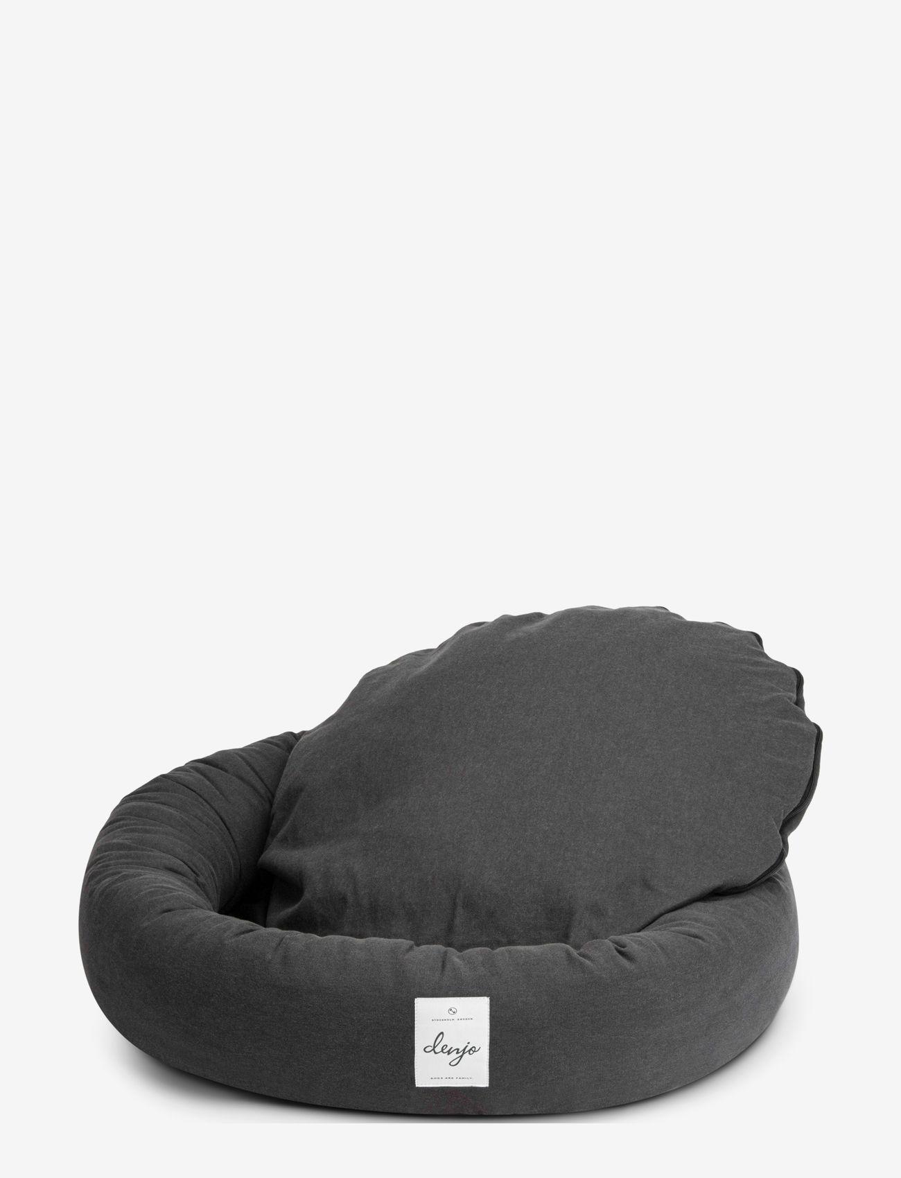 Denjo Dogs - Donut Bed - hundesenge - stone grey - 1