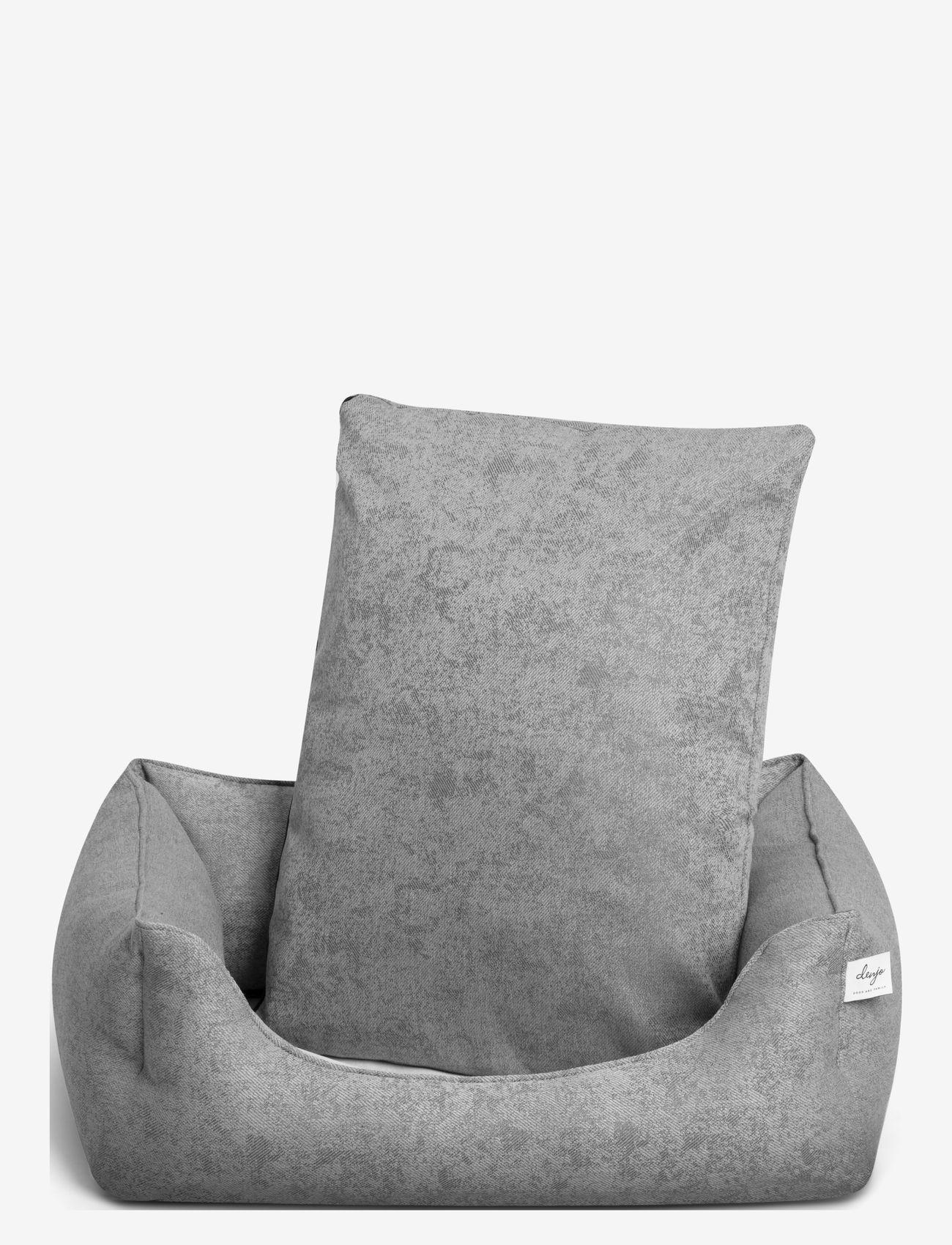 Denjo Dogs - Nest Bed Gusto - hundesenge - light grey - 2