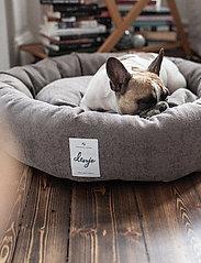 Denjo Dogs - Donut Bed Textile - hundesenge - brown - 5