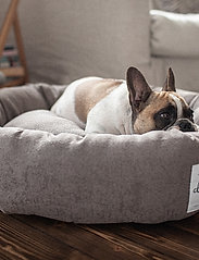 Denjo Dogs - Donut Bed Textile - hundesenge - brown - 6