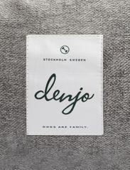 Denjo Dogs - Donut Bed Textile - hundesenge - graphite - 2