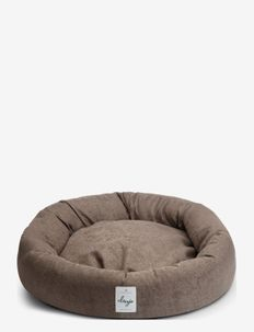 Donut Bed Textile - hundesenge - brown