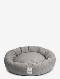 Donut Bed Textile - hundesenge - graphite