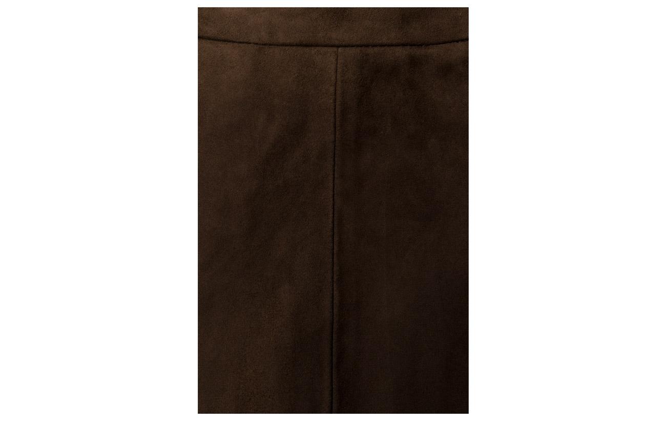 A With Elastic Skirt De Daim Depeche Polyester Army 100 Doublure Équipement Waistband Cuir Green Peau Chèvre Intérieure qEdRqx