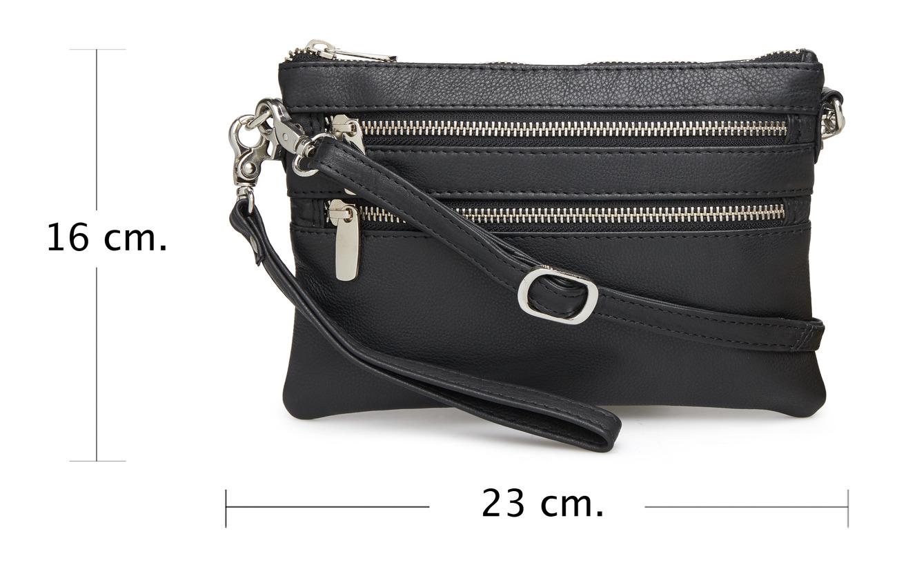 Clutch Intérieure Sergé Cuir Doublure Bag Équipement Small Coton Black 100 Depeche qwAESaxE