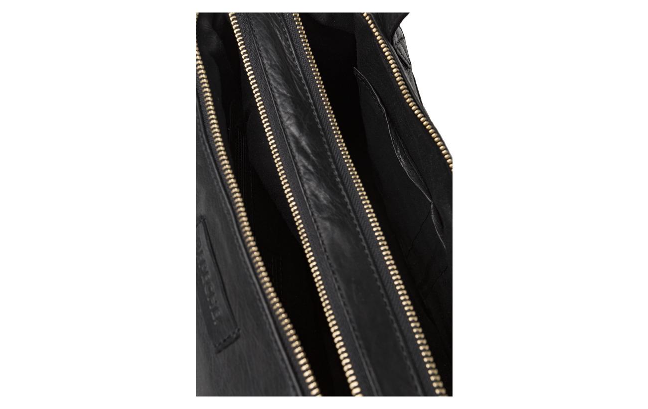 100 Black Coton Cow Depeche Medium Coquille Inner Doublure Bag Extérieure qXW6wCP