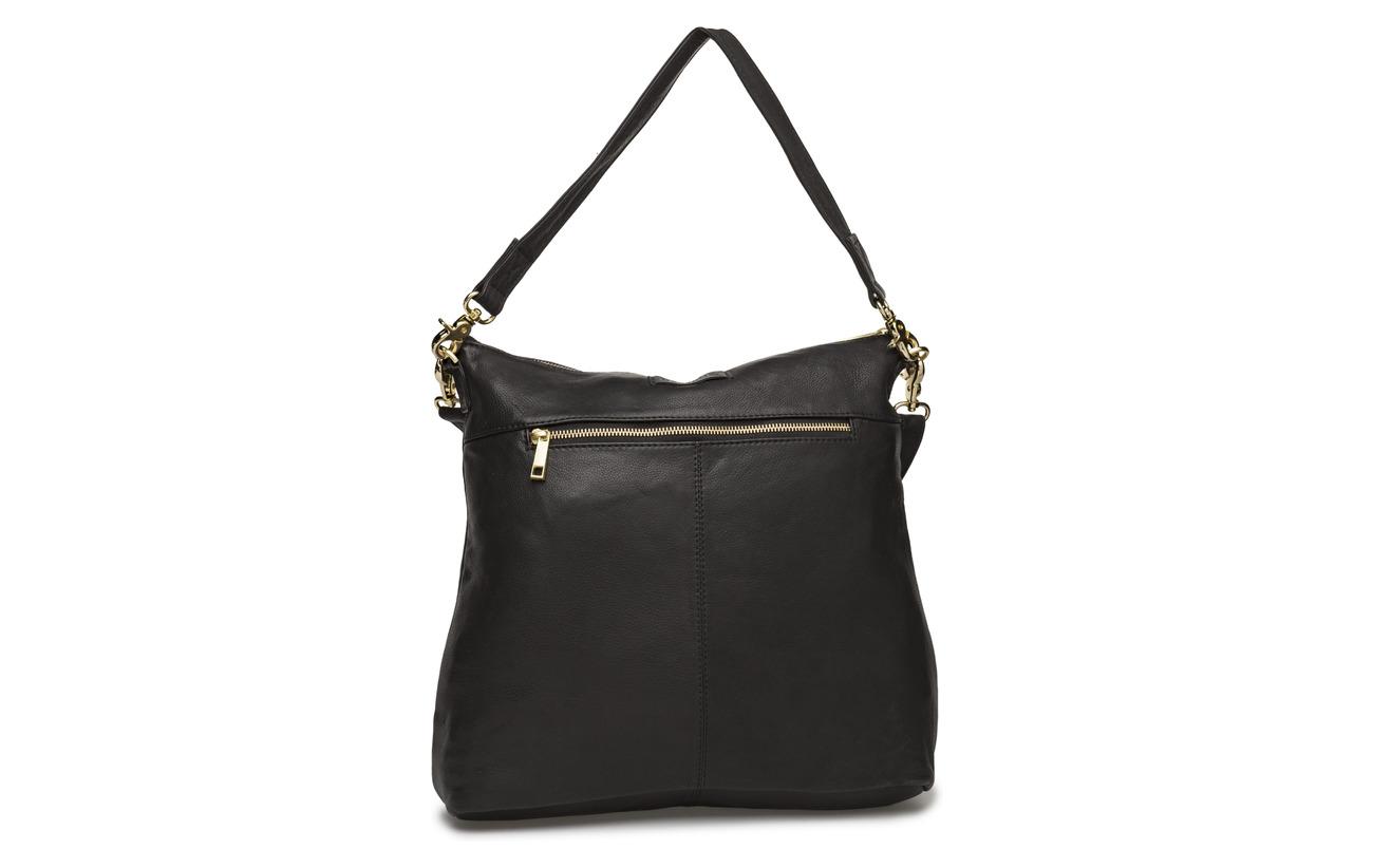 Coton Extérieure Coquille Medium Black Doublure Depeche Inner Cow 100 Bag qwzASCIxZ
