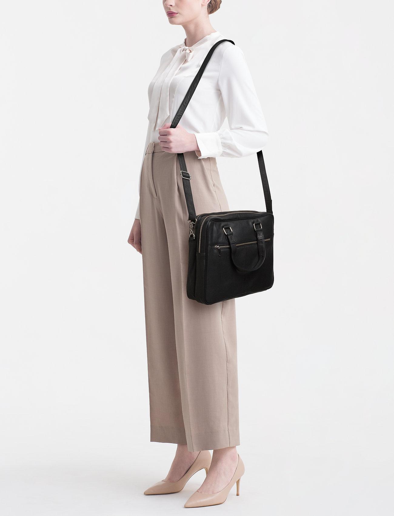 DEPECHE Medium bag - 099 BLACK (NERO)