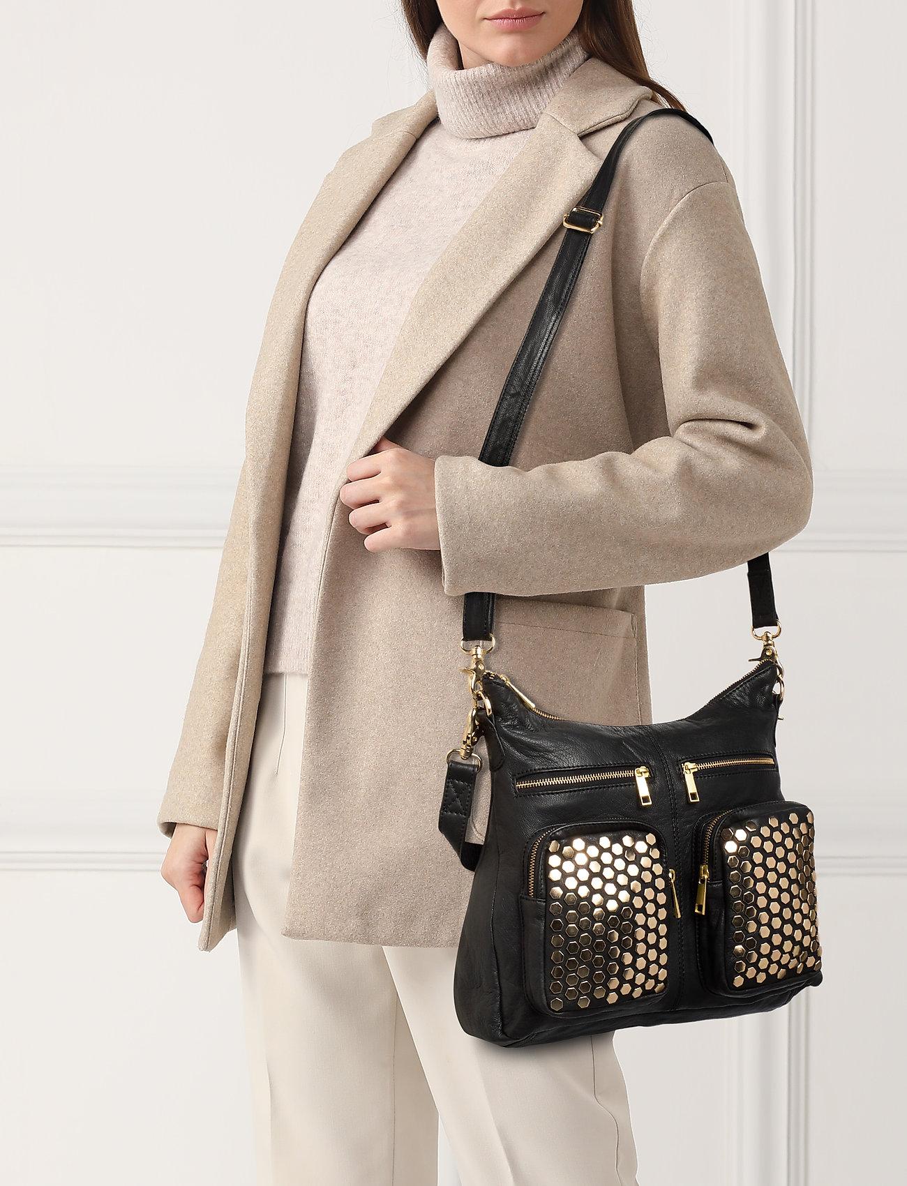 DEPECHE Large bag - GOLD
