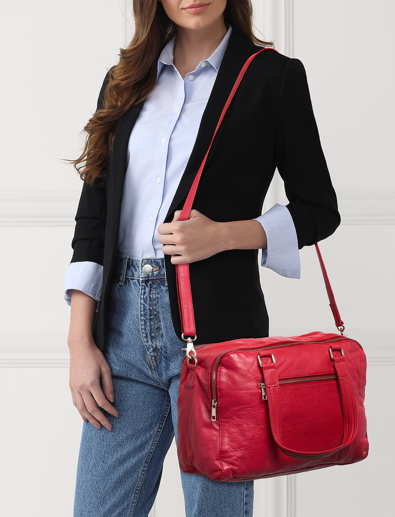 DEPECHE Large bag - RED