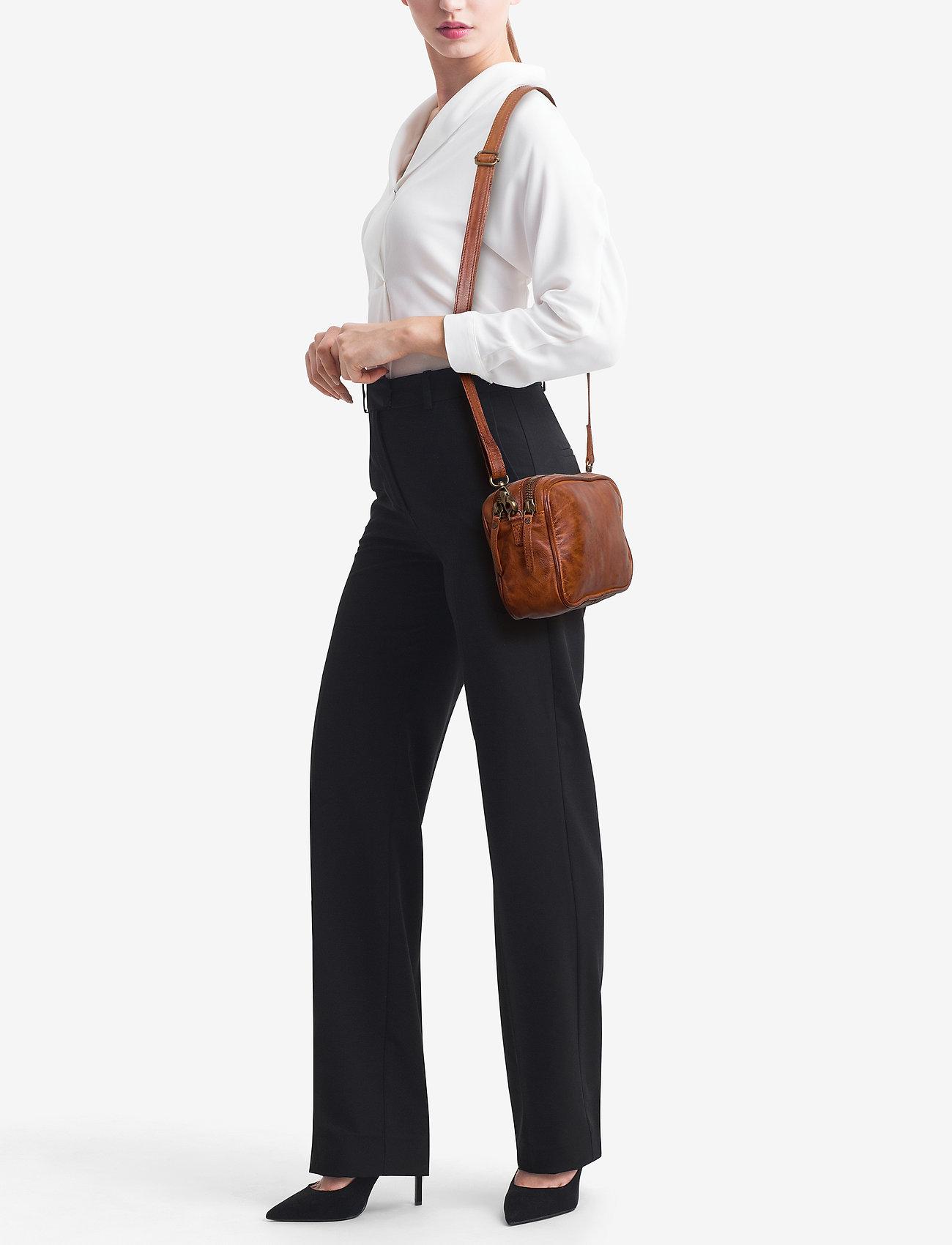 DEPECHE Small bag / Clutch - VINTAGE COGNAC