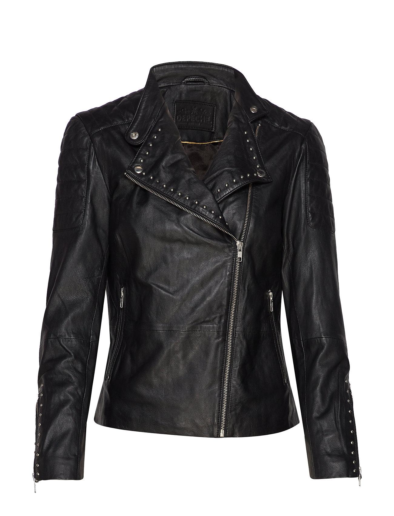 DEPECHE Jacket w/studs - SILVER