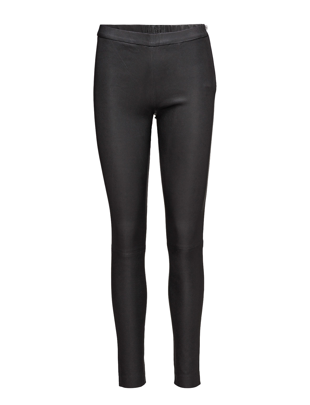 Image of Pants Leather Leggings/Bukser Sort DEPECHE (2382638127)