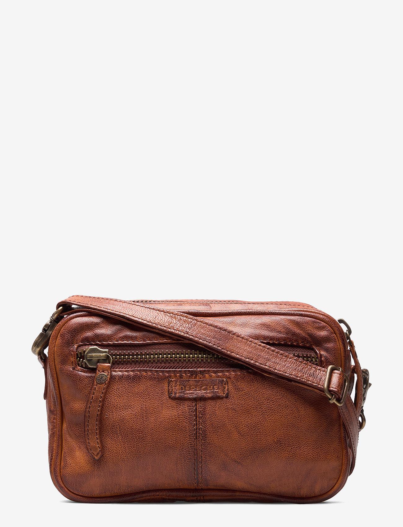 DEPECHE - Small bag / Clutch - schoudertassen - vintage cognac - 1