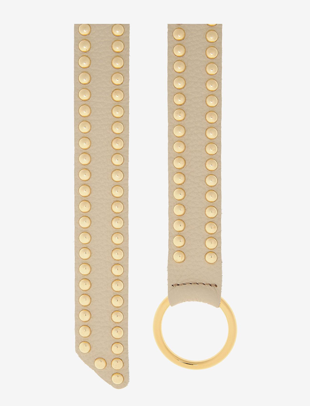 DEPECHE - Jeans belt - riemen - 011 sand - 1