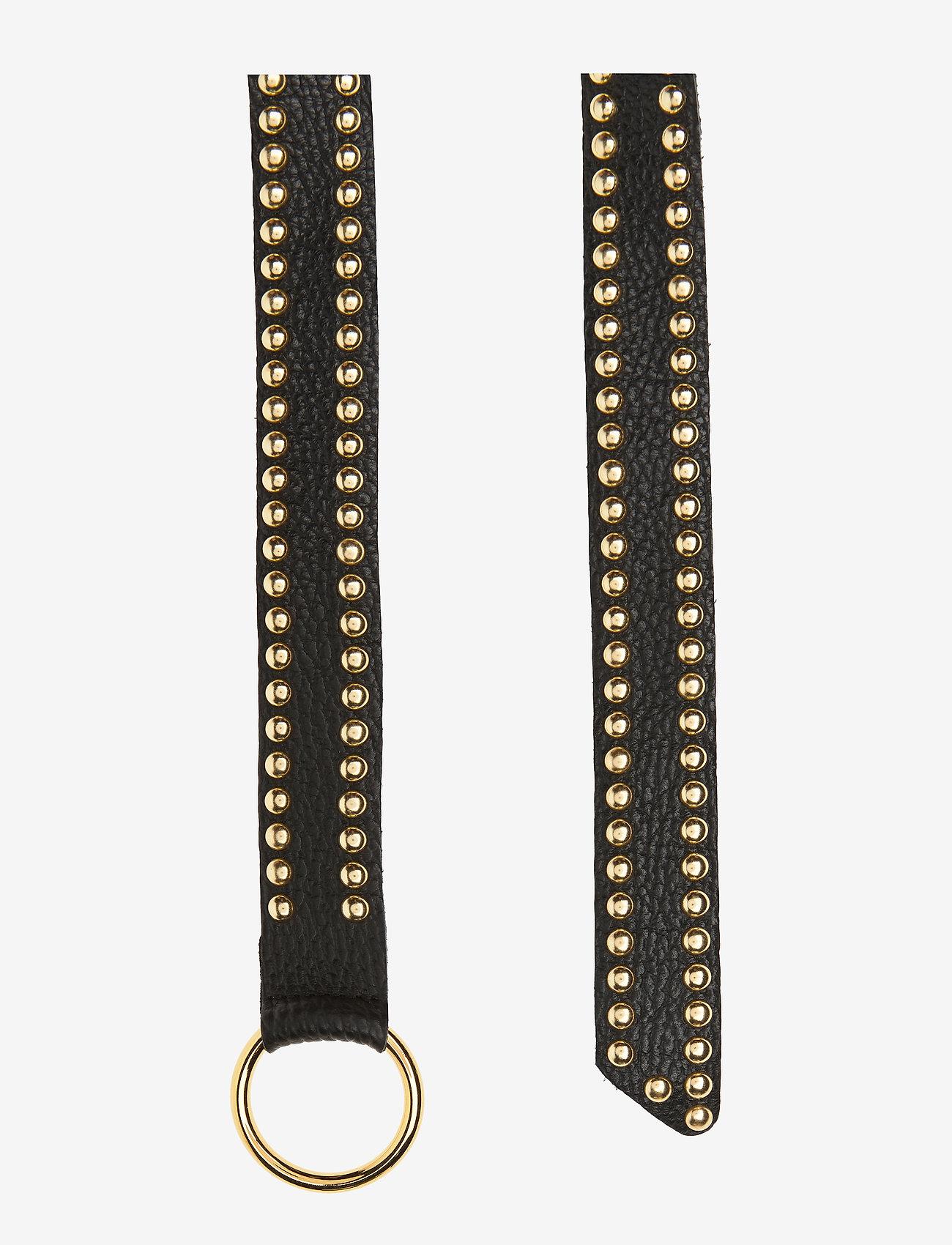DEPECHE - Jeans belt - riemen - 097 gold - 1