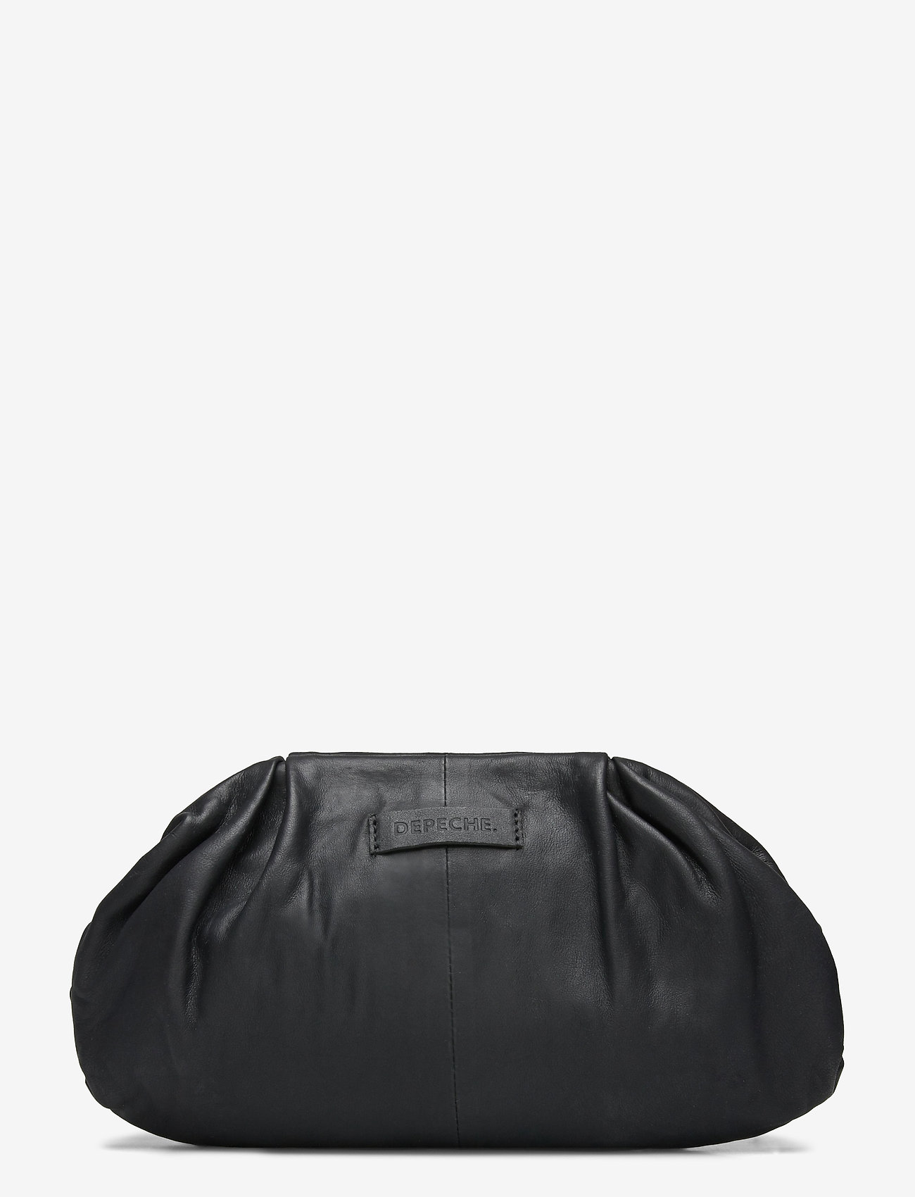 DEPECHE - Small bag / Clutch - kirjekuorilaukut - 099 black (nero) - 1