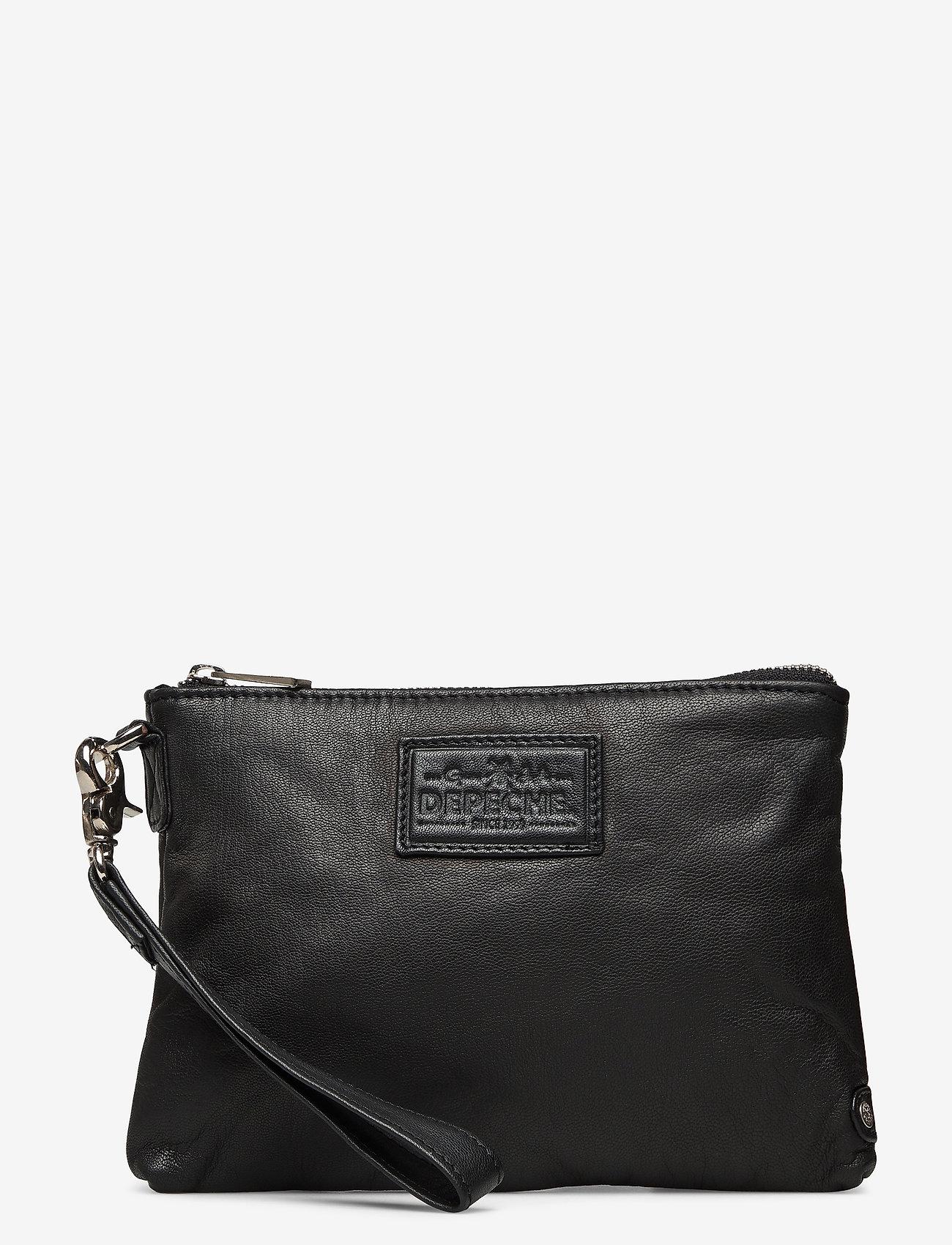 DEPECHE - Cosmetic bag - clutches - 099 black (nero) - 0