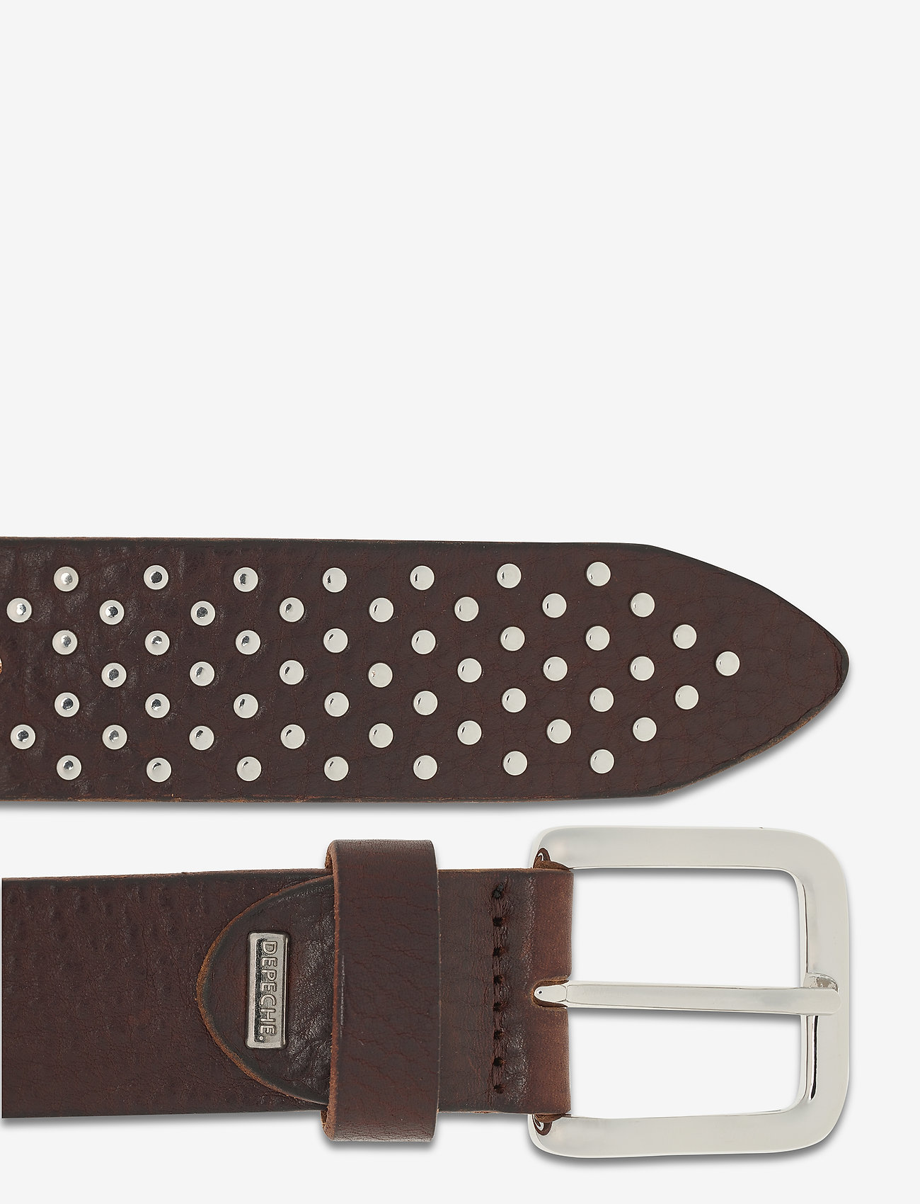 DEPECHE - Jeans belt - riemen - dark brown - 1