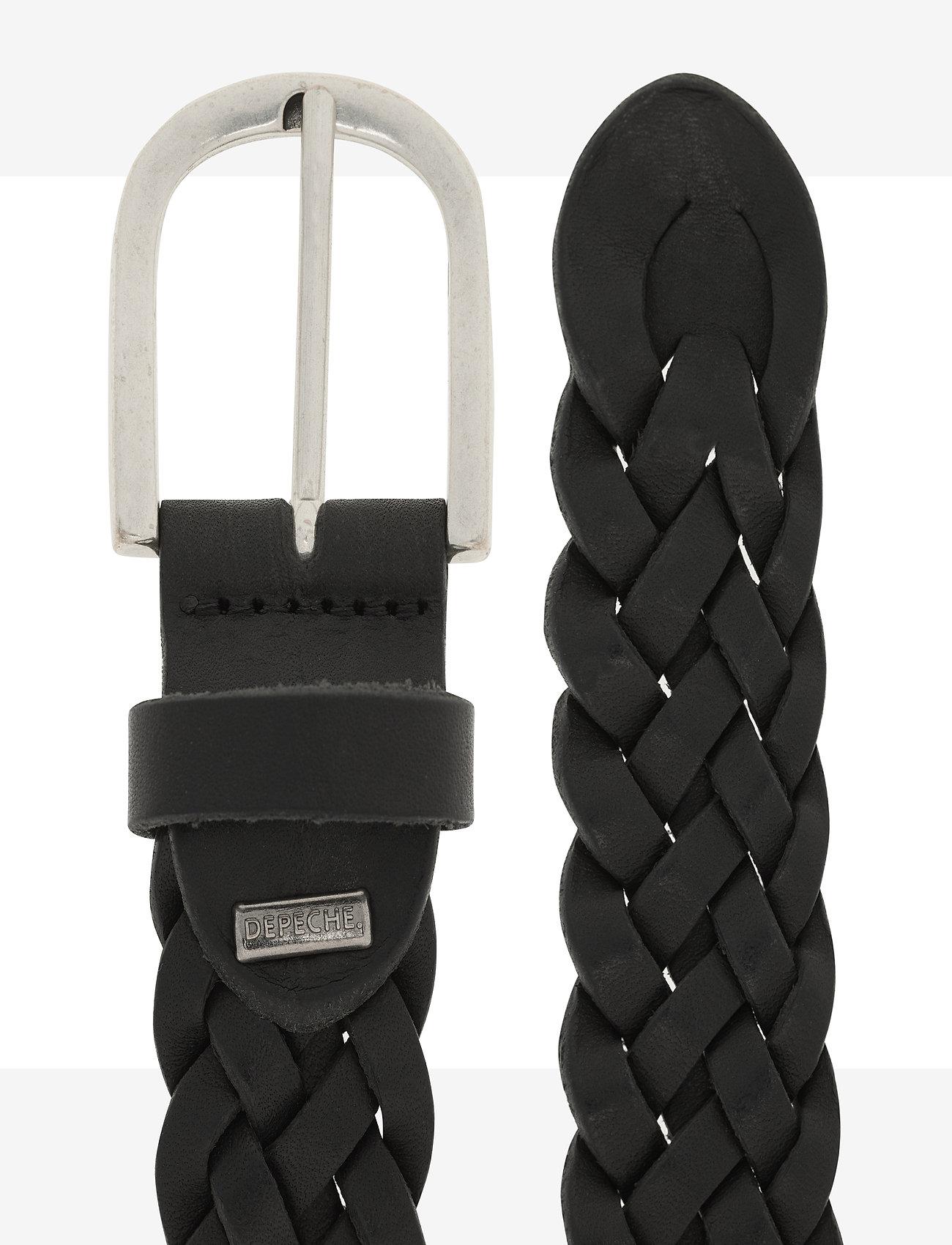 DEPECHE - Jeans belt - riemen - silver - 1