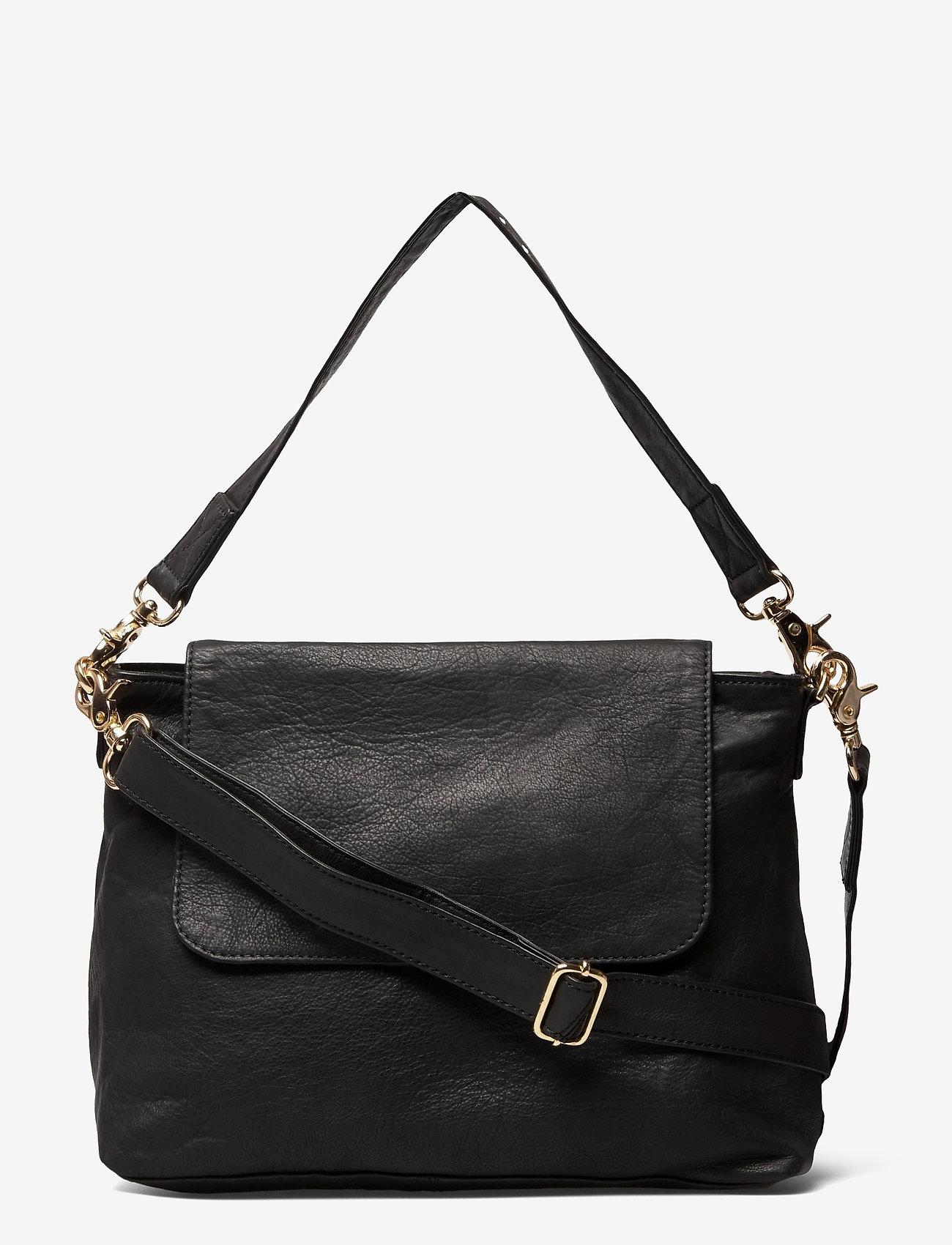 DEPECHE - Medium bag - handväskor - black - 0
